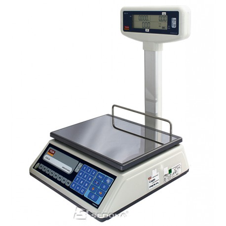 Price Computing Scale Tem EGE LCD with Pole - without Connexion - Power Supply