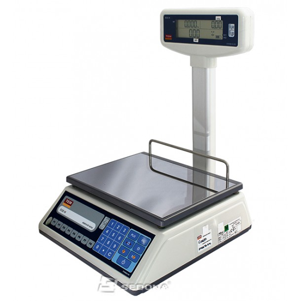 Price Computing Scale Tem EGE LCD with Pole