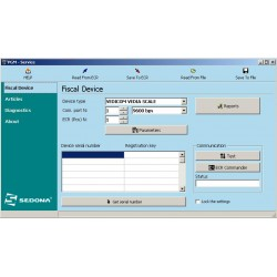 PGM - Software for Vedia labeling scales