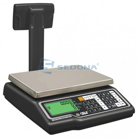 Cantar comercial Dibal G325 Cu/Fara brat - 15/30 kg - Conectare - Acumulator optional