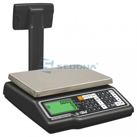Commercial Scale Dibal G310 - with/without Pole - with Connexion - Optional Power Supply