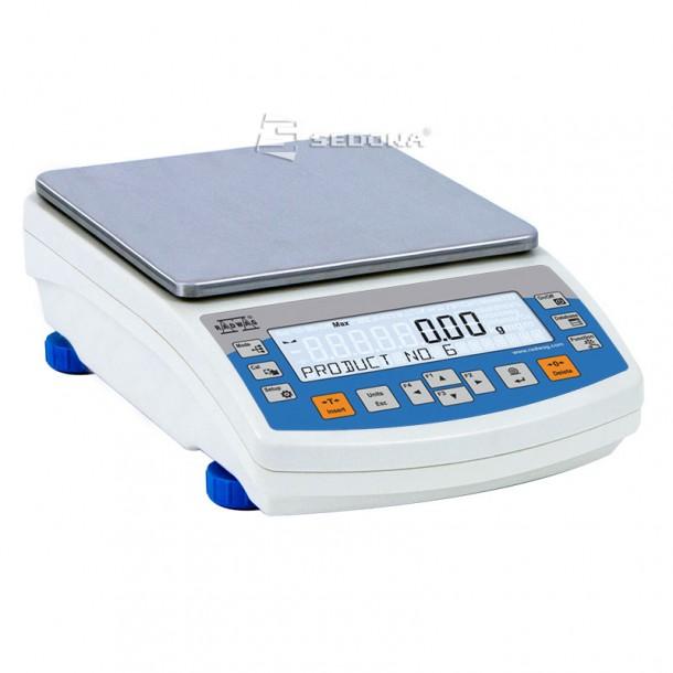 Cantar de precizie Partner PS 1200, 195 x 195 mm, 1200g, 0,01g - Cu metrologie