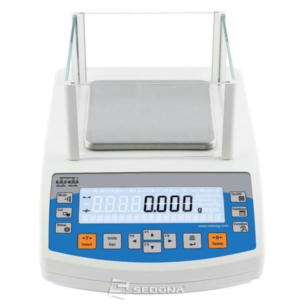 Balanta de precizie Partner PS 210, 128 x 128mm, 210g, 0,001g - Cu metrologie