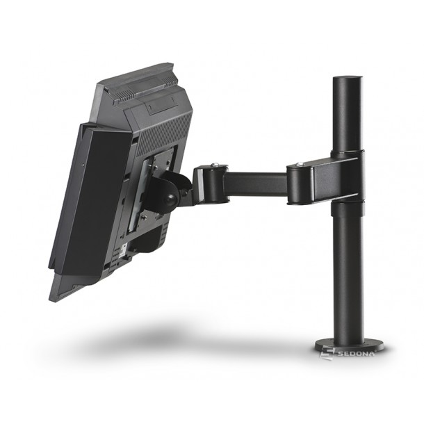 Space Pole Stand with Flexible Arm for Monitor