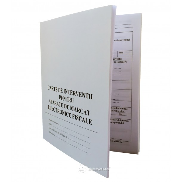 Carte de interventii pentru case de marcat