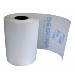 Thermal roll for cash register and POS printer, 56mm wide 25m long