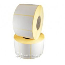 58 x 43mm Sticker Gloss Label Rolls Thermal Transfer (1000 labels/roll)