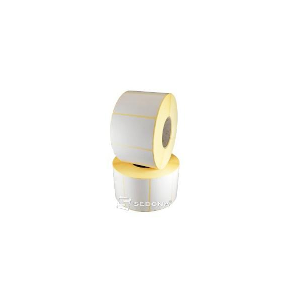 Rola etichete autocolante, semilucioase, transfer termic, 58 x 43mm (1000 et.)