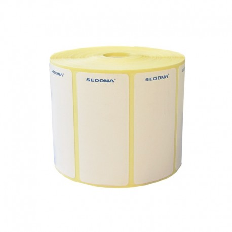 Role de etichete semilucioase 100 x 50mm