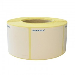 50 x 40mm Sticker Gloss Label Rolls Thermal Transfer (1200 labels/roll)