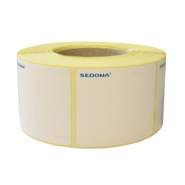 Rola etichete autocolante, semilucioase, transfer termic, 50 x 40mm (1200 et.)