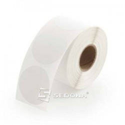 76 mm Round Sticker Label Rolls Direct Thermal