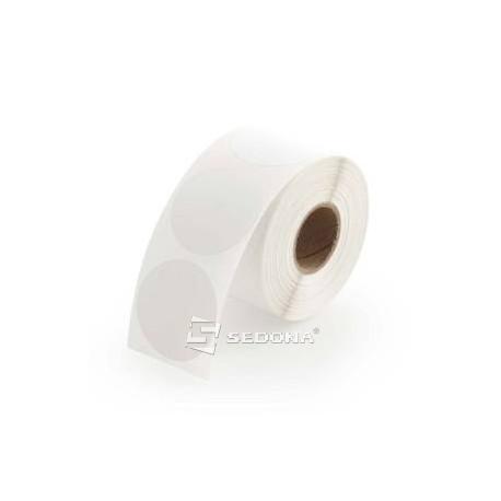 Role etichete autoadezive termice rotunde 76 mm