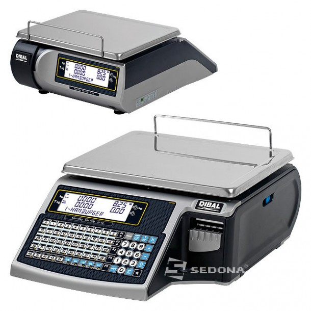 Labeling Scale Dibal Mistral M 515 Flat