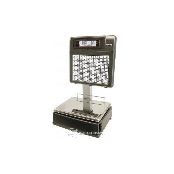 Labeling Scale Dibal Mistral SelfService