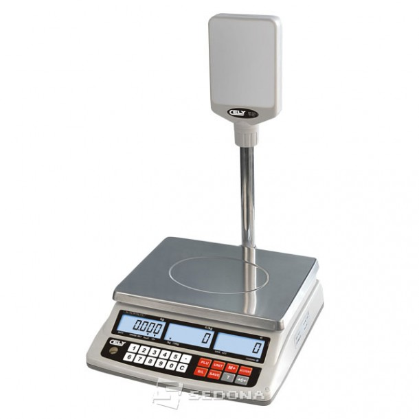 Price Computing Scale Cely SPC With Pole