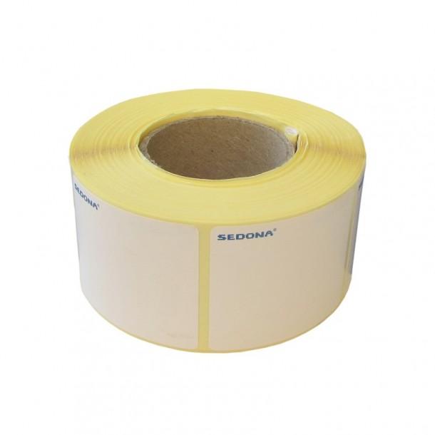 Rola etichete autocolante, direct termice, 58 x 60 mm (1000 et.)