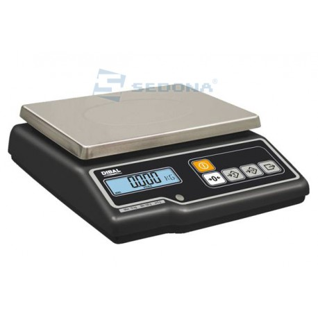 Check Weighing Scale Dibal G300 with Metrological approval