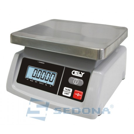 Check Weighing Scale Cely PS50 3/6/15 kg with Metrological approval