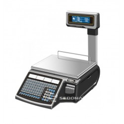 Labeling Scale Dibal Mistral M 515 With Pole