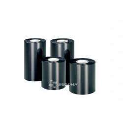 Wax Ribbon Black 110mm wide x 74m long