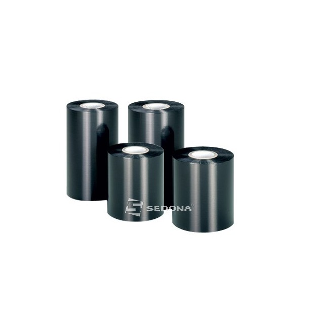 Ribon Wax negru 110mm Latime x 74m Lungime