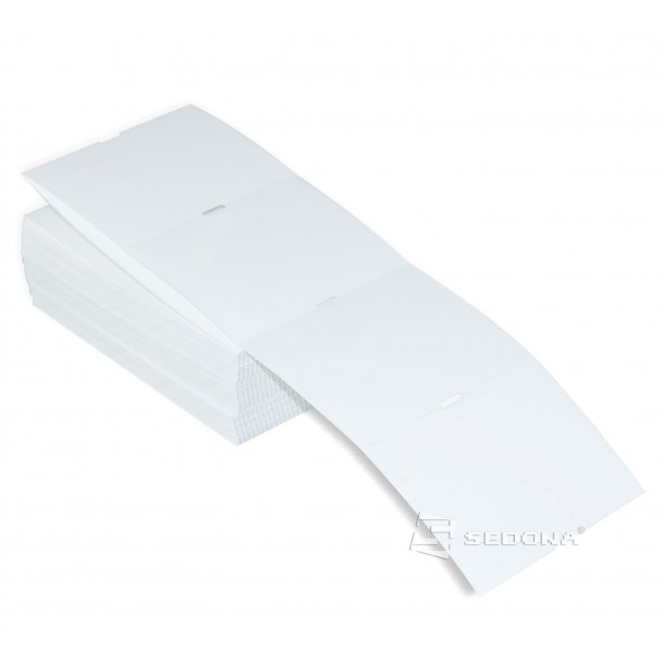 45 x 330 mm White Shelf Thermal Transfer Label Rolls (445 label/roll)