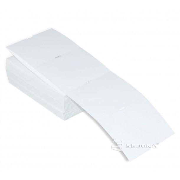 Rola etichete tag de raft, transfer termic, albe, 65 x 38 mm (540 et.)