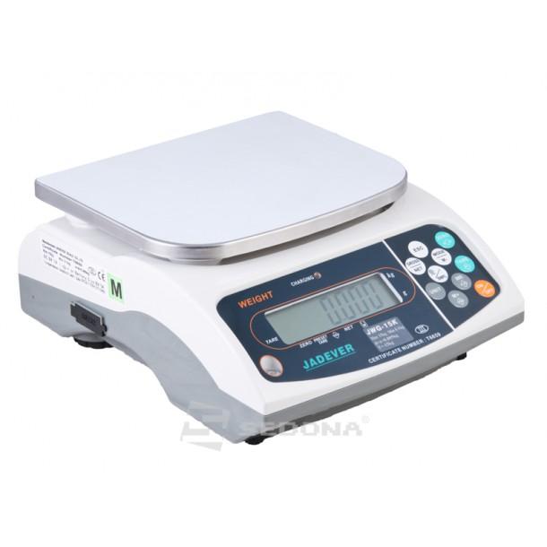 Cantar de verificare Jadever JWG 6/15/30 kg fara verificare metrologica