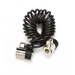 SpacePole Dual Lock Curly Cable 1.5m