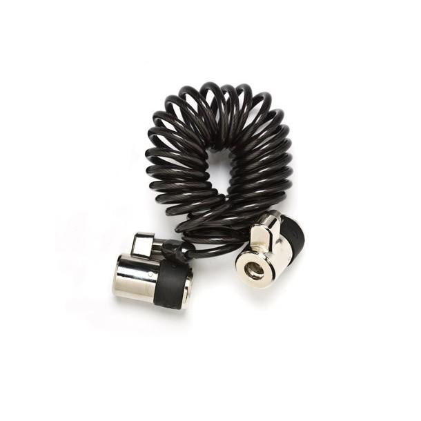 Cablu buclat SpacePole 1,5m cu doua incuietori