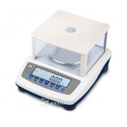 Precision scale Helmac HLD 600g, 0,001g - without Metrological Approval
