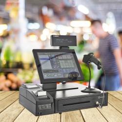 Sistem de gestiune pentru magazin - PREMIUM - cu Cititor, Imprimanta fiscala, Sertar bani, POS All-in-One Aures, Sedona Retail