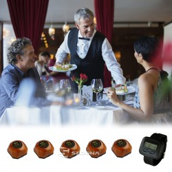 Wireless waiter call system