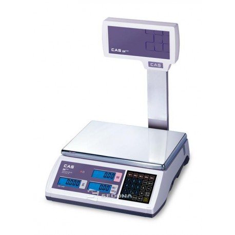 Price Computing Scale CAS ER-PLUS RS232 with Pole