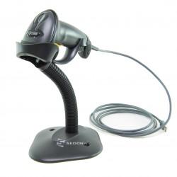 Cititor coduri 1D Zebra Symbol LS2208 USB Negru Cu Stand