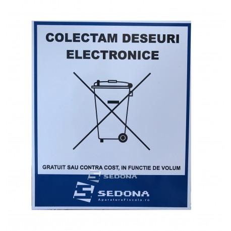 Placuta Colectam Deseuri Electronice