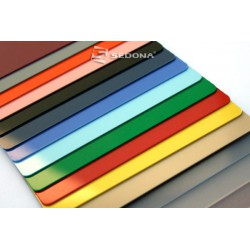 Color plastic card