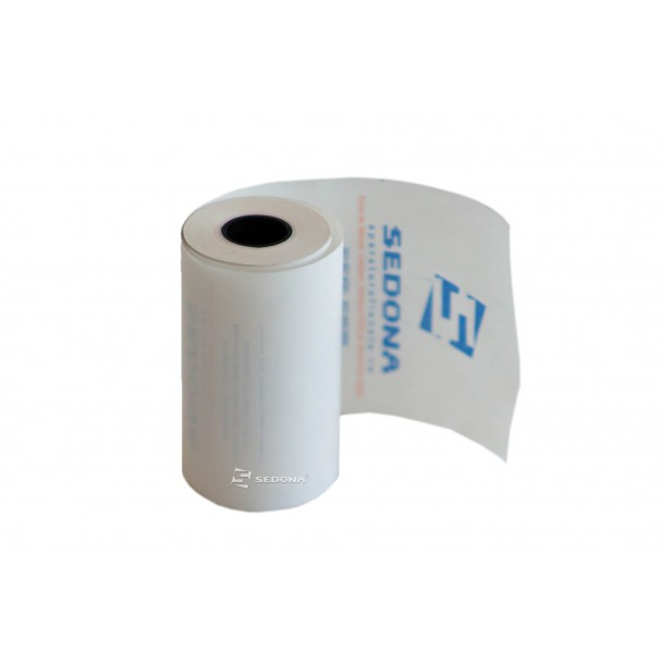 Thermal roll for cash register, 57mm wide 12m long