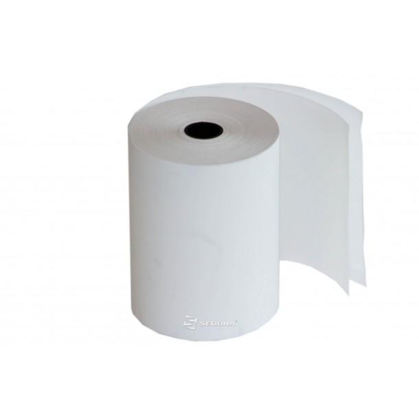 Selfcopy paper for cash register, 76mm wide 20m long