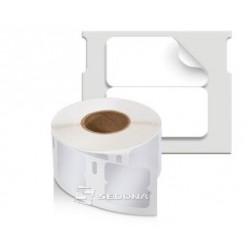 Etich. LW plastic pentru bijuterii, 54 x 11mm 1500 buc/rola