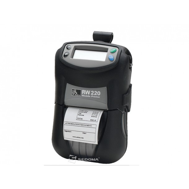 Imprimanta POS portabila Zebra RW220 conectare WiFi