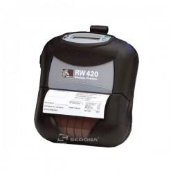 Imprimanta POS mobila Zebra RW420 conectare Bluetooth