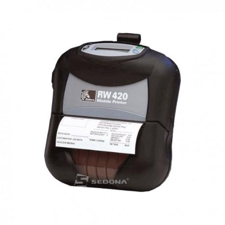 Imprimanta POS portabila Zebra RW420 conectare Bluetooth