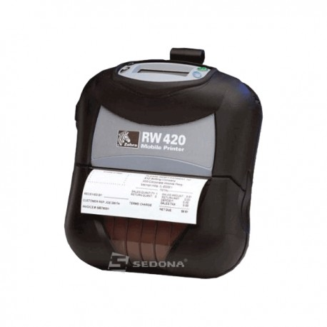 POS Portable Printer Zebra RW420 Bluetooth