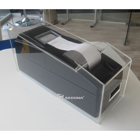 Plexiglas case for Datecs FP550T fiscal printer