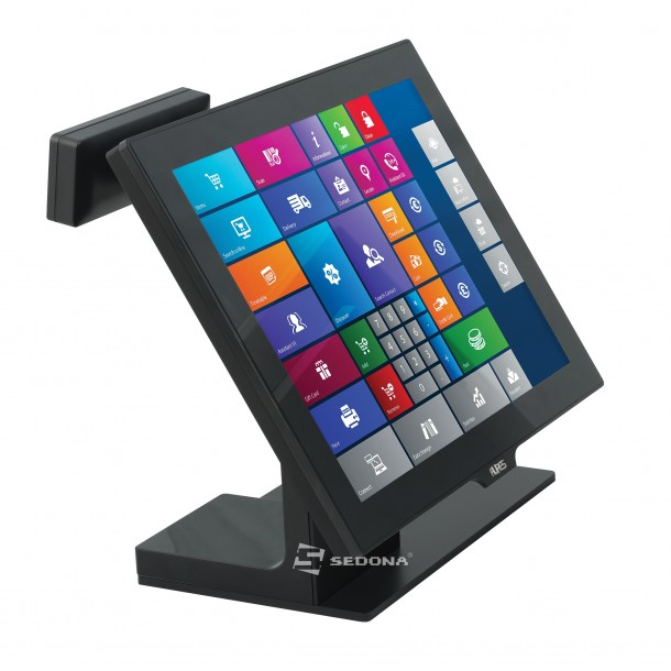 POS All in One Aures Yuno cu WiFi cu Windows 7 POS Ready