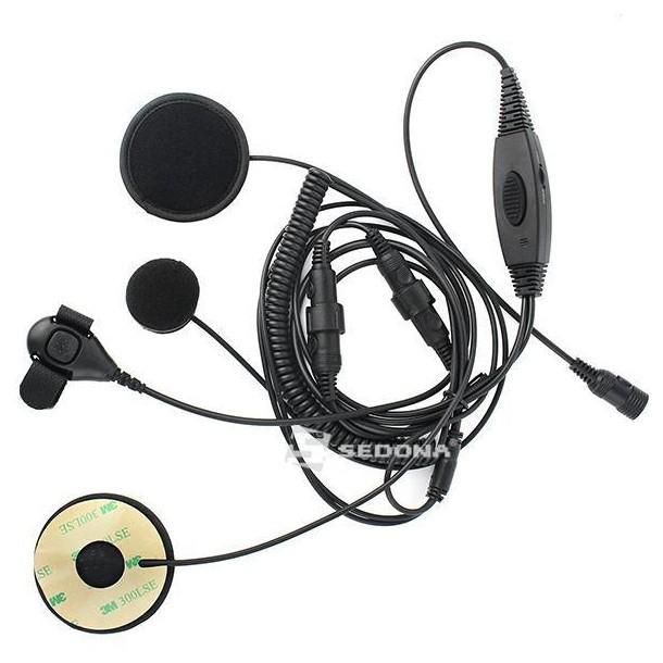 Motorola Walkie Talkie Helmet