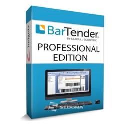 Software de etichetare Bartender SEAGULL SCIENTIFIC Professional Edition 1 user