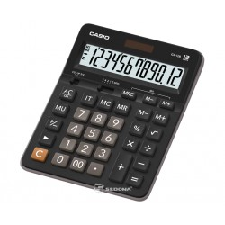 Casio waterproof and dustproof calculator, 12 digits, orange